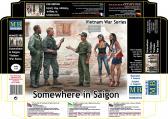 """Master Box Ltd """"Somewhere in Saigon"""", Vietnam War"""