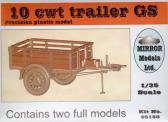Mirror Models Ltd 10 cwt Trailer GS