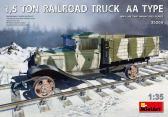 MiniArt 1,5 TON RAILROAD TRUCK AA TYPE