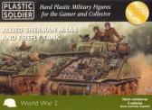 Plastic Soldier M4A4 Sherman & Firefly (x5)