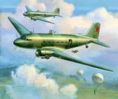 Zvezda Li-2 Soviet Transport Plane