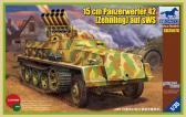 Bronco 15 cm Panzerwerfer 42 (Zehnling) auf sWS