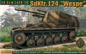 Ace 10,5cm leFH-18/2 auf Fgst Pz.Kpfw.II (Sf) Sd.Kfz.124 Wespe