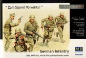 """Master Box Ltd """"Zum Sturm! Vorwärts!"""" German Infantry DAK, North Africa"""
