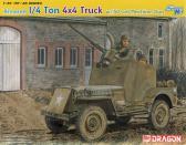 Dragon 1/4-Ton 4X4 Truck w.M2 .50-Cal Machine Gun
