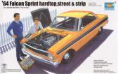 Trumpeter '64 Falcon Sprint Hardtop Street & Strip