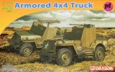 Dragon 1/4-Ton 4x4 Armoured Truck - Twin Pack